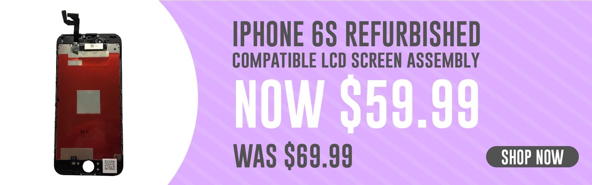iPhone 6S Refurbished Banner