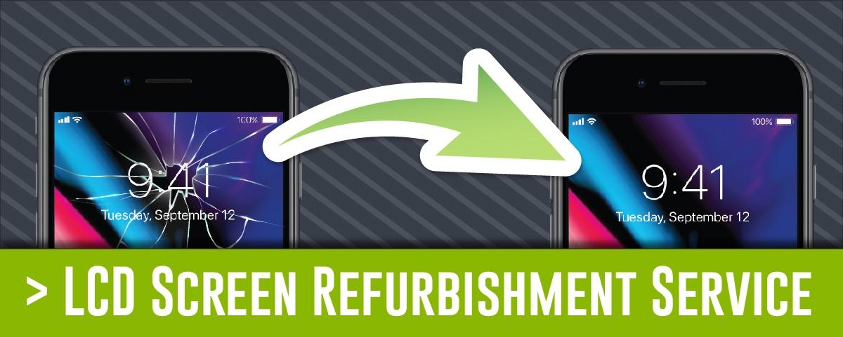 Screen Refurbishment Service Button